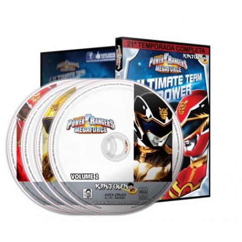 Power Rangers Megaforce - 21ª temporada Power Rangers