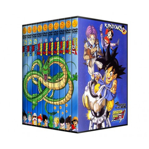 Combo Dragon Ball - DB DBZ e DBGT Completos + Filmes
