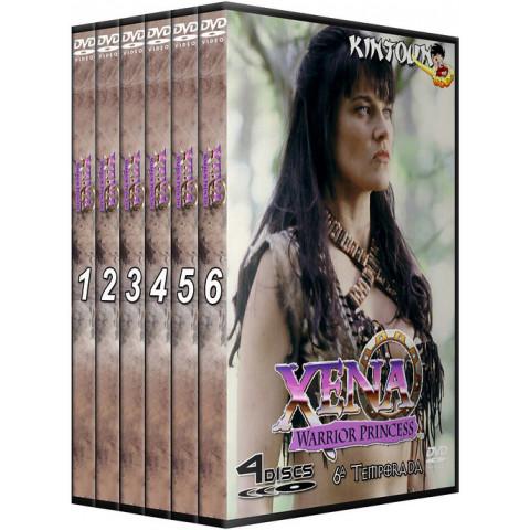 Dvds Xena a Princesa Guerreira Série completa