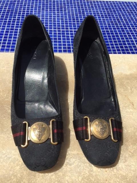 Sapato Gucci vintage sola 38 1/2 (Brasil 36 1/2)