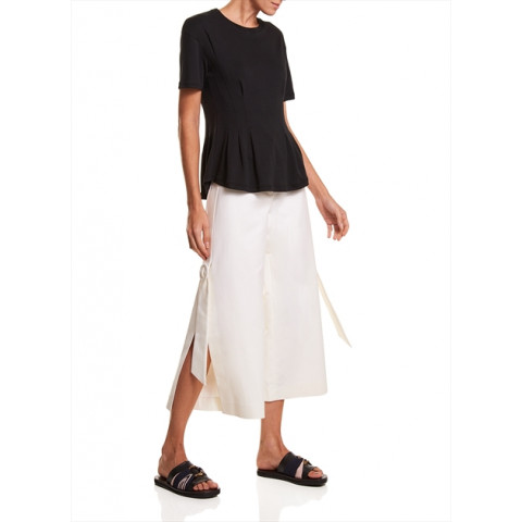 T-Shirt  Cristina Le Lis Blanc tam:G