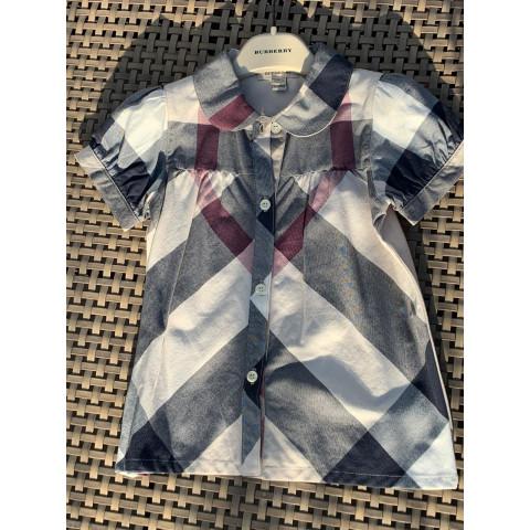 Camisa Burberry infantil - tam 4