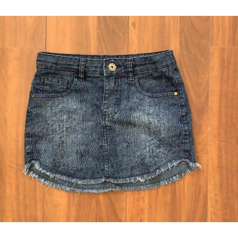 Saia jeans Le Lis Petit T: 10 anos