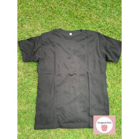 Camiseta preta UNIQLO, XL Doaçäo Boninho
