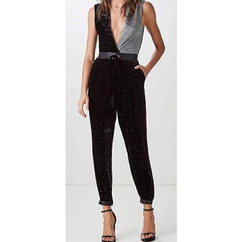 Calça Animale  Pijama Veludo Lalique Concept T: M