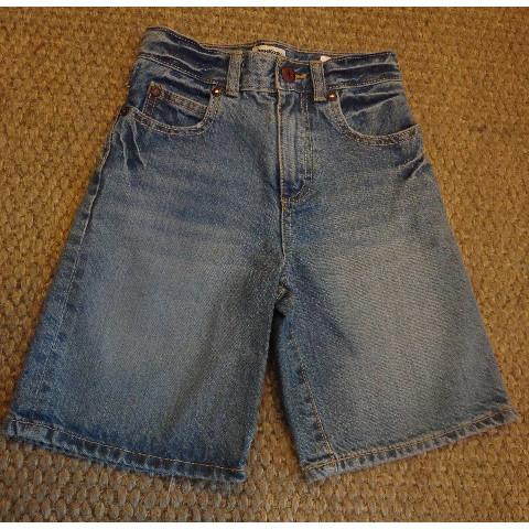Bermuda jeans Oshkosh, 7 anos Importada
