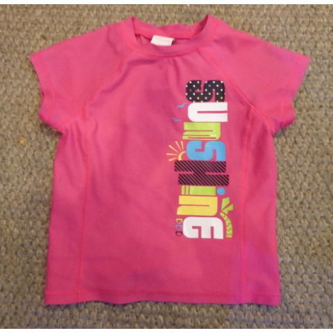 Blusa de Lycra, 4-5 anos Importada