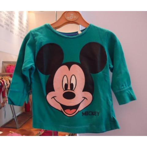 Blusa Mickey T: 12- 18 Meses