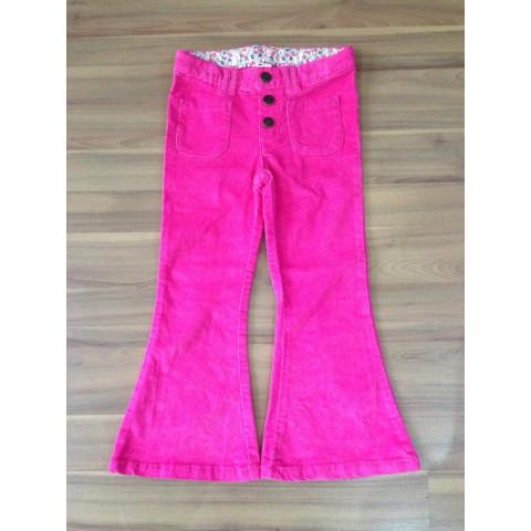 Calça Carters veludo rosa Tamanho: 5 anos