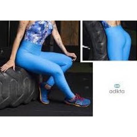 Calça Ginastica Adikta azul  T: U nova, com etiqueta!