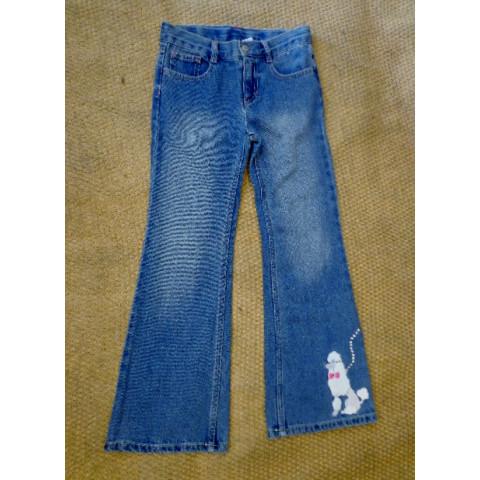 Calça Jeans Gymboree Tamanho: 7 anos