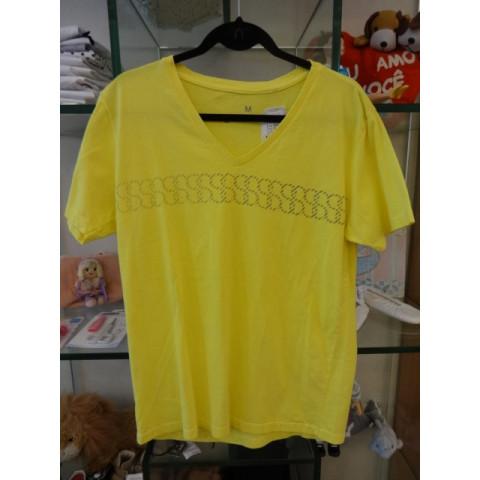 Camiseta Filipe Russo amarela, M Nova com etiqueta