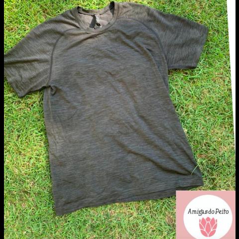 Camiseta lululemon Masculina M Doação Boninho