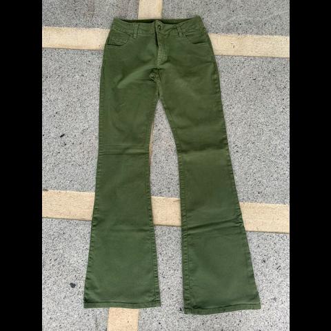 Calça K&T verde exercito, 42