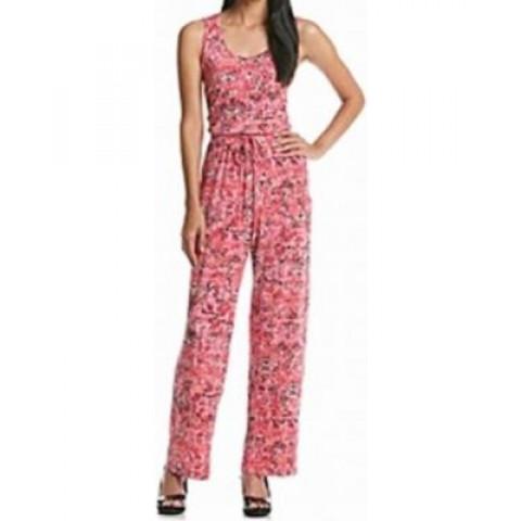 Macacão Calvin Klein cobra pink, tam. 10 USA (veste M) NOVO com etiqueta