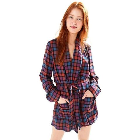 Macaquinho modelo blazer xadrez Farm T: G