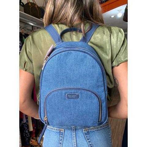 Mochila jeans Kate Spade ( Produto Novo)