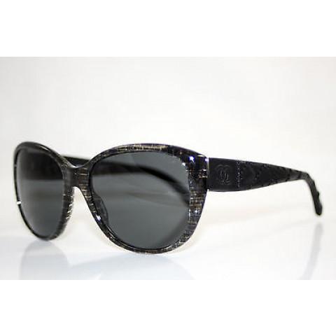Óculos Chanel preto 51199-Q Impecável
