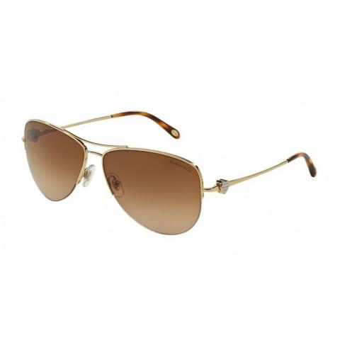 Óculos Tiffany 0TF3021 60023B Gold - Brown Gradient