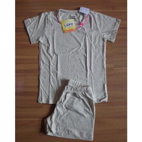 Pijama Short Doll Lupo T: 8 anos Novo