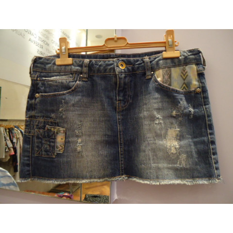 SALE- Saia jeans Forever 21 T: G