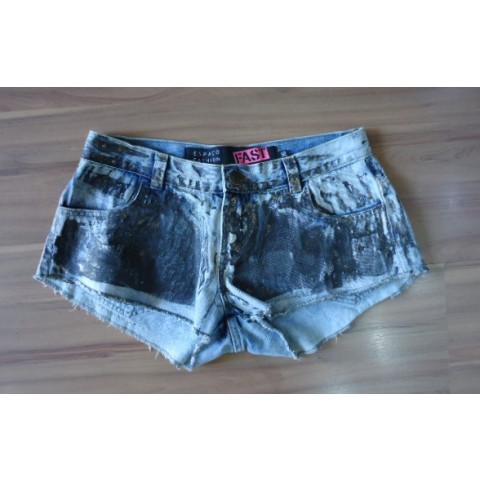 Short jeans Espaço Fashion T: 36
