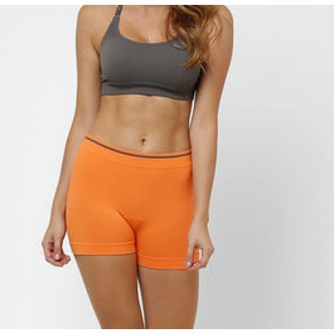 Short Lupo basic laranja T: M