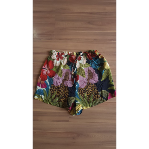Short Farm tecido estampado T: G