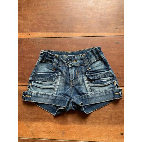 short jeans infantil Zara T: 2-3 anos