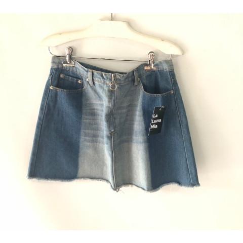 Saia Jeans Forever 21 tam:G