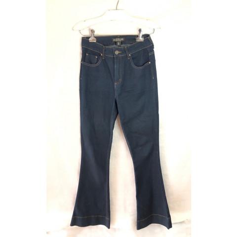 Calça jeans Le Lis Blanc Flaire jeans escuro T: 38