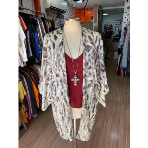 Kimono FYI estampado T: M
