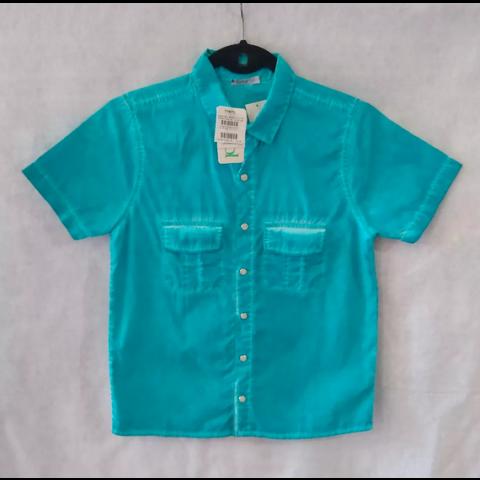 Camisa infantil Tyrol nova T 12 anos