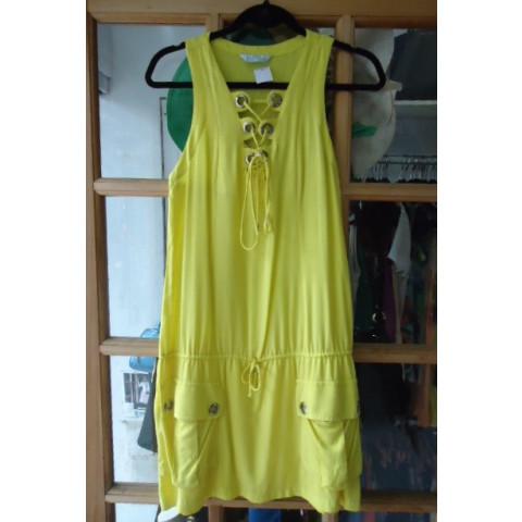 Vestido Agilitá verde flour T: 38
