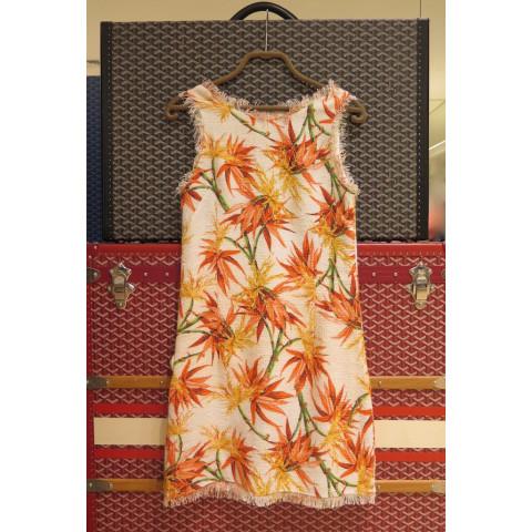 Vestido Daslu Tear Floral Sunset, 40 Coleção 2016