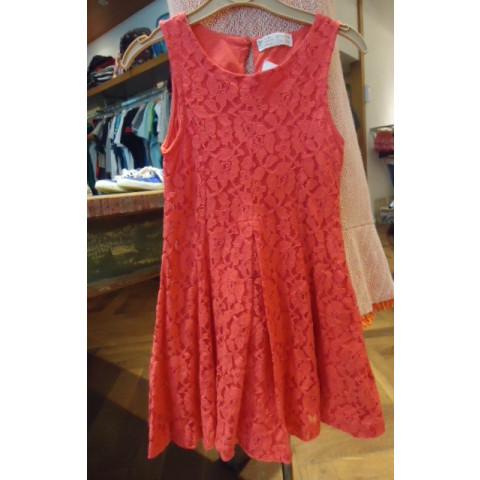 Vestido de renda ZARA 7-8 anos