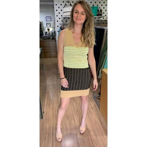 Vestido Lurex A.brand T:38