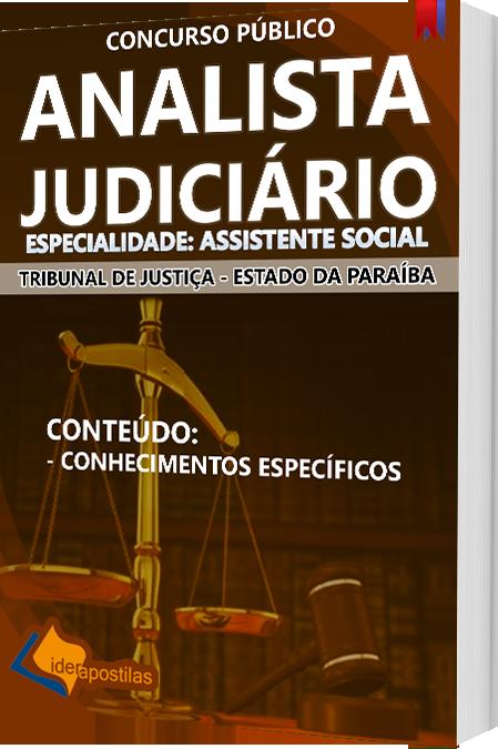Apostila Analista Judiciário - Assistente Social Concurso tribunal Justiça -Paraíba