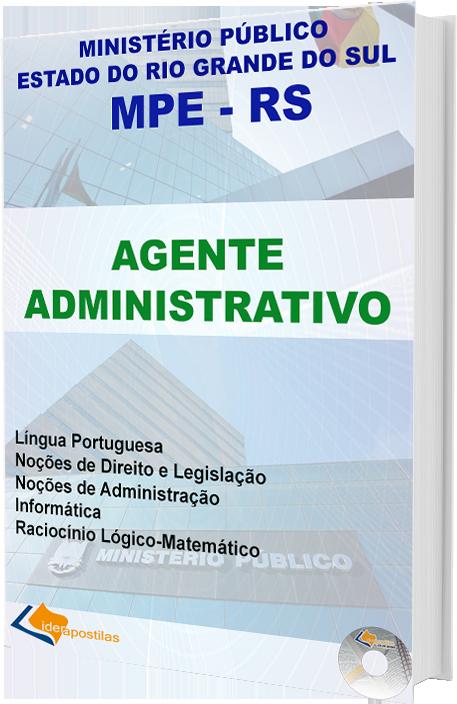 Apostila Concurso Agente Administrativo do Ministério Público do Rio Grande do Sul MPE-RS