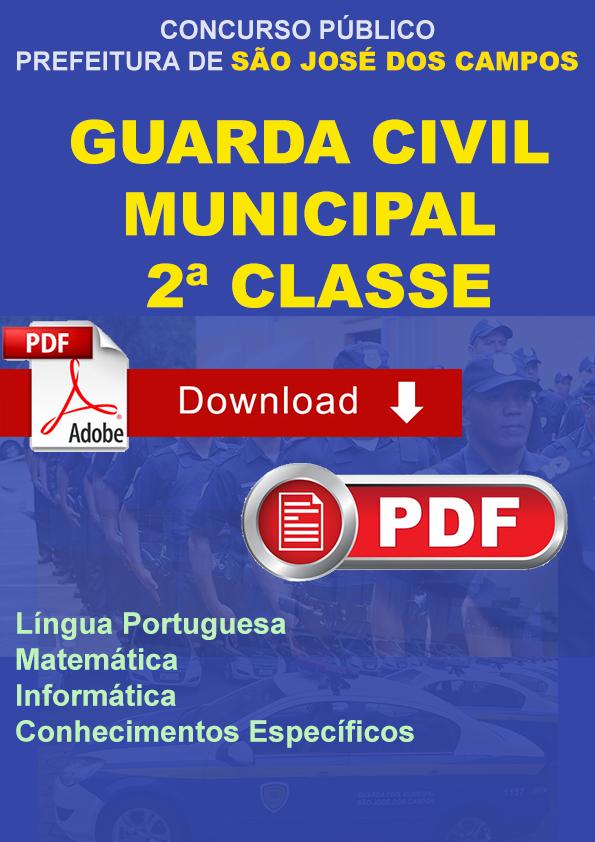 Apostila Guarda Civil Municipal S Jose Campos - Download