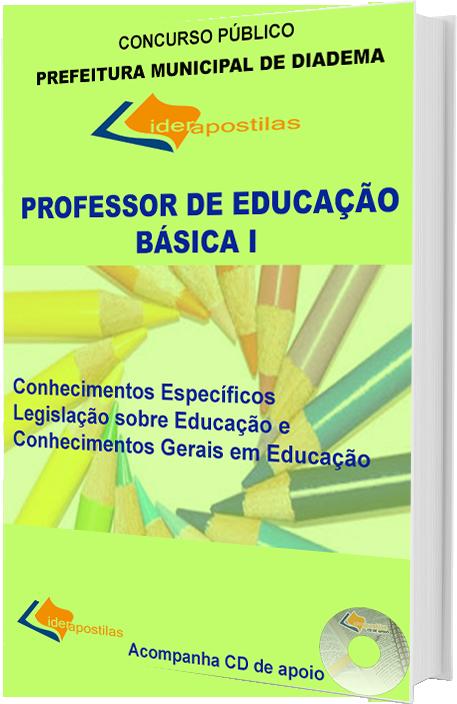 Apostila Professor de Educação Básica I - de Diadema - PEB I