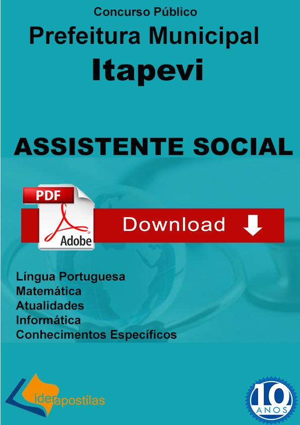 Apostila Assistente Social Itapevi