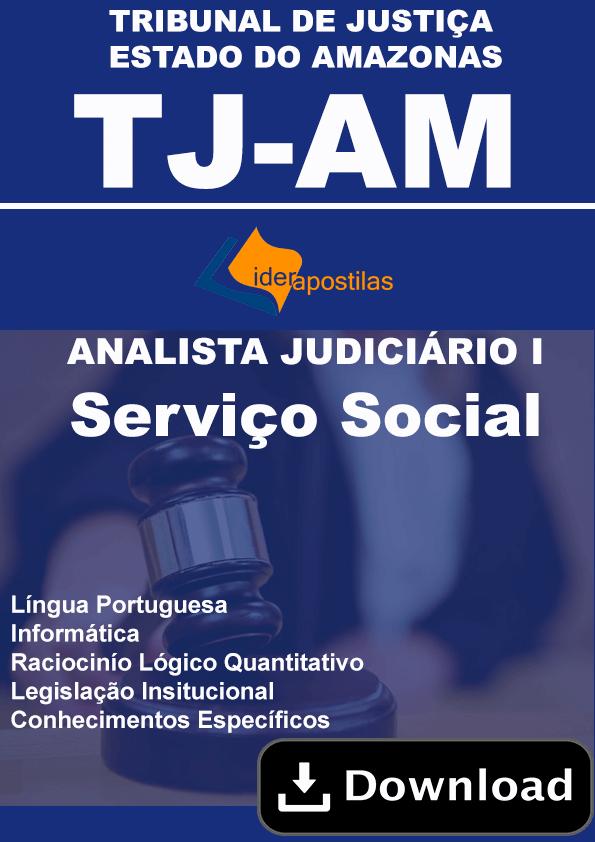 Assistente Social TJ AM