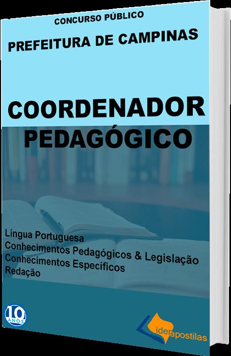Apostila Coordenador Pedagógico Campinas