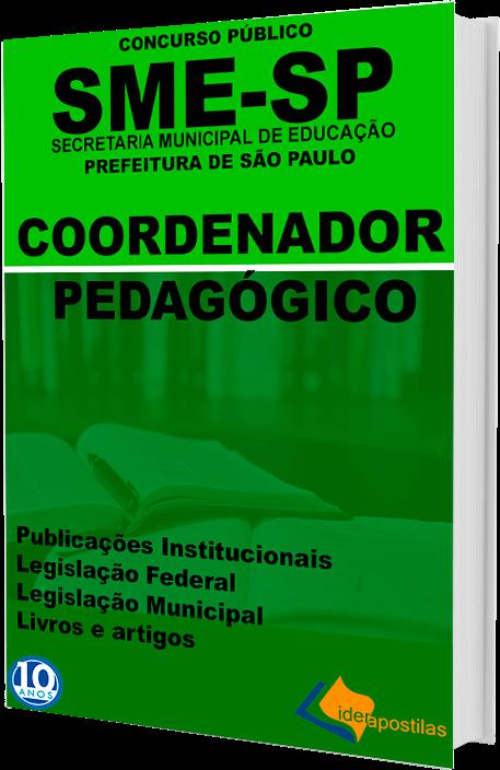 Apostila Coordenador Pedagógico S Paulo
