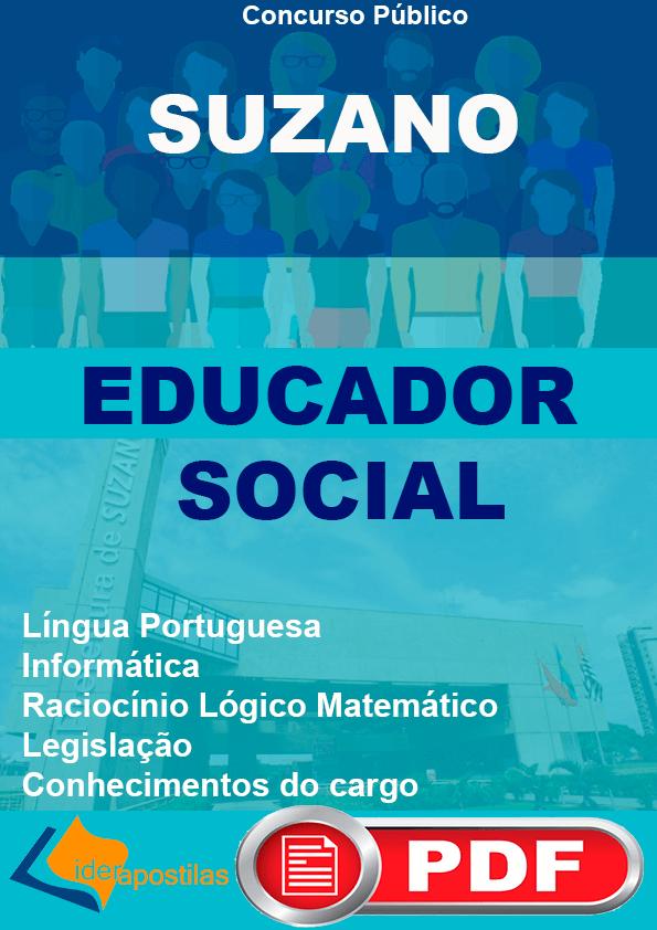 Apostila Educador Social de Suzano
