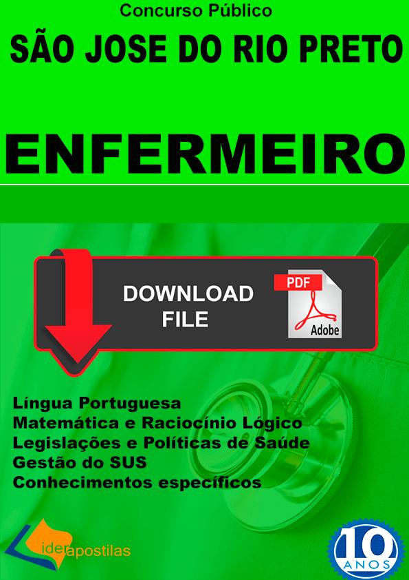 Apostila Enfermeiro Rio Preto