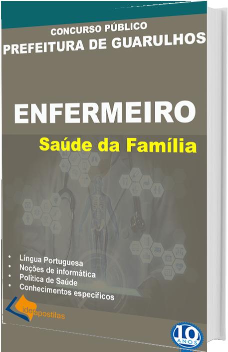 Concurso Prefeitura Guarulhos Enfermeiro PSF