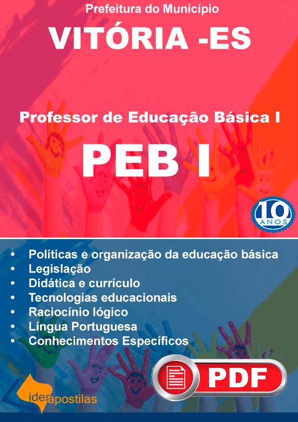 concurso Peb I Vitoria ES.