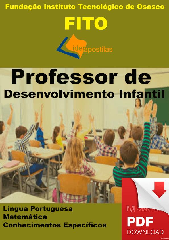 Apostila Professor Desenvolvimento Infantil Osasco